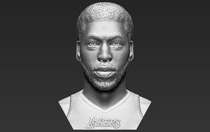 anthony davis bust printing 3D model