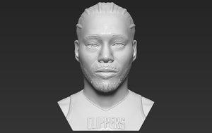 kawhi leonard bust printing model
