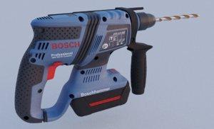 bosch hammer drill professional 3D