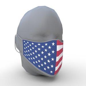 face mask - pbr model