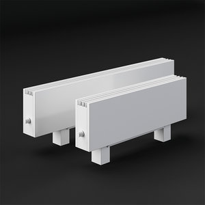 heating convector elegant mini 3D model