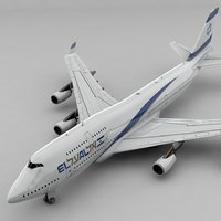 Boeing 747 EL AL L827