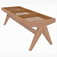 Cassina Jeanneret Civil Wooden Bench