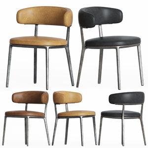 3D caratos maxalto dining chair