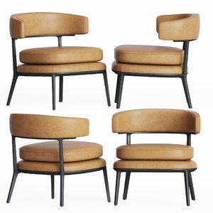 caratos maxalto armchair bebitalia 3D
