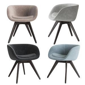 3D tom dixon scoop chair