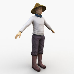 farmer rigged 3D