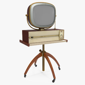 3D retro 1959 philco predicta