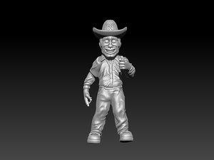 herbie nebraska 3D model