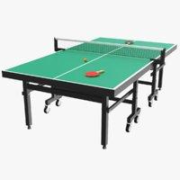 Ping Pong Table Green