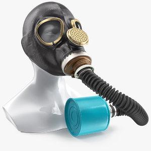 gas mask gp5 long model