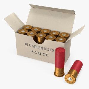 box 8 gauge shotgun model