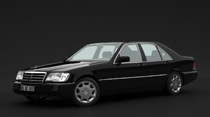 mercedes benz class 3D model