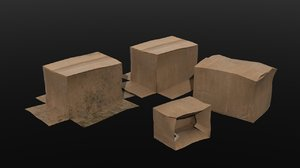 3D pack boxes