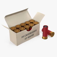 Box of 12 Gauge Shotgun Shells