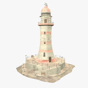 3D - lighthouse model
