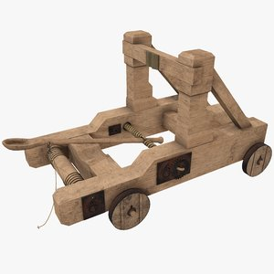 catapult weapon model