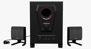 3D azatech speaker