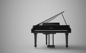 grand v piano model