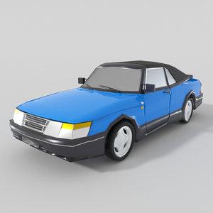 saab 900 cabriolet model
