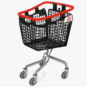 basket cart shopping araven 3D model
