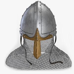 3D norman helmet v2