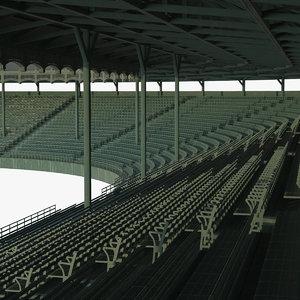 3D grandstand