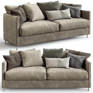 furninova sofa harmony night 3D model
