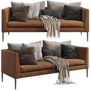 3D cor sofa pilotis