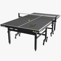 Black Ping Pong Table