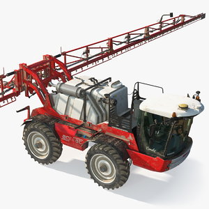 3D agrifac condor 5 self propelled model