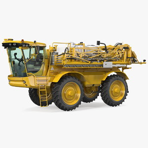 self propelled crop sprayer 3D