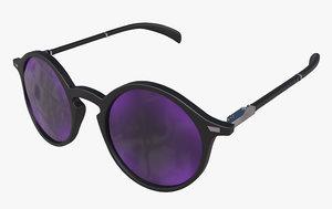 3D sunglasses glasses sun model