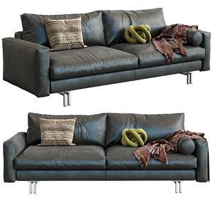 interface sofa blues 3D