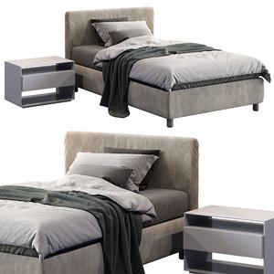 3D flou bed model