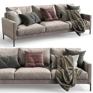 interface sofa luca 3D model