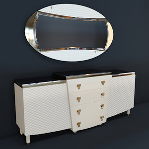 nightstand vogue turri z500l 3D model