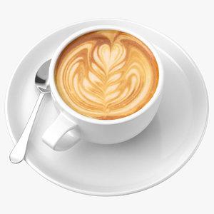 coffee art 02 model