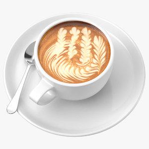 3D coffee art 03