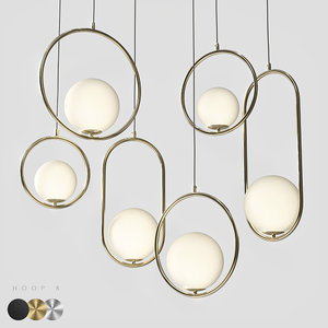 pendant light hoop b model