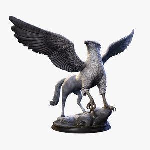 3D statue sculptures