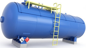 tank pipes 3D