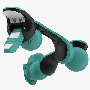 robotic arm rigged 3D model