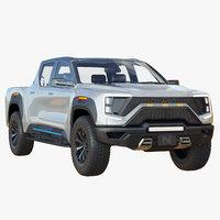 Nikola Badger Electric Pickup Truck 2022