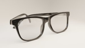 3D generic glasses model