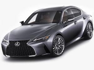 lexus is300 2021 3D