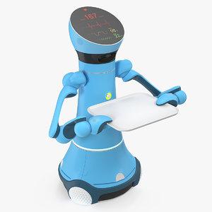 medical service robot 3D model
