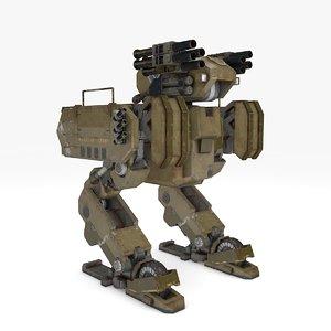 3D mech warrior