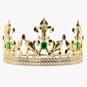 king queen 3D model