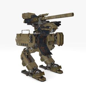 warrior mech 2 model
